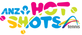 ANZ Hot Shots Tennis Logo