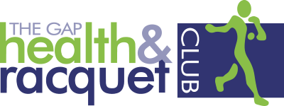 The Gap Health and Racquet Club Logo