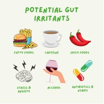 potential gut irritants