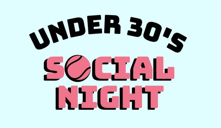 Under 30's social night